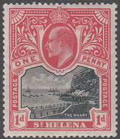 ST. HELENA    SCOTT NO.  51     MINT HINGED     YEAR  1903 - Grande-Bretagne (ex-colonies & Protectorats)