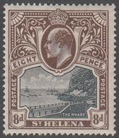 ST. HELENA    SCOTT NO.  53    MINT HINGED     YEAR  1903 - Grande-Bretagne (ex-colonies & Protectorats)