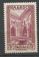 MAROC N° 141 NEUF** LUXE SANS CHARNIERE / MNH - Maroc (1891-1956)