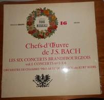 Bach. Les Six Concerts Brandebourgeois. - Classical