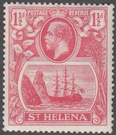 ST. HELENA    SCOTT NO.  81    MINT HINGED     YEAR  1922 - Grande-Bretagne (ex-colonies & Protectorats)