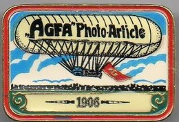 AGFA  - PHOTO ARTICLE -  BALLON DIRIGEABLE 1906 - Airships