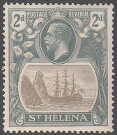 ST. HELENA    SCOTT NO.  82    MINT HINGED     YEAR  1922 - Grande-Bretagne (ex-colonies & Protectorats)