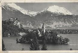 Bled 1942- Deutche Reich Stamp - Yougoslavie