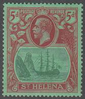 ST. HELENA    SCOTT NO.  84    MINT HINGED     YEAR  1922 - Grande-Bretagne (ex-colonies & Protectorats)