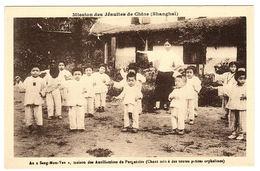 """CHINE - SHANGHAÏ - Mission Des Jésuites De Chine - Au """"Seng Mon Yeu"""", Maison Des Auxiliatrices Du Purgatoire, Chant Mimé - Chine"""