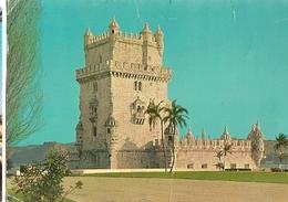 Portugal  & Circulated, Lisboa, Torre De Belém, Tomar Para Den Haag Holanda 1968 (505 - Monumenten