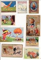 Lot Chromos Images Gregoire Chocolat Guerin Boutron Wdp La Vache Qui Rit Verley Pupier Des Gourmets Poulain Phoscao - Vieux Papiers