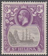 ST. HELENA    SCOTT NO.  86    MINT HINGED     YEAR  1922 - Grande-Bretagne (ex-colonies & Protectorats)