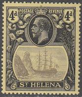 ST. HELENA    SCOTT NO.  95    MINT HINGED     YEAR  1922 - Grande-Bretagne (ex-colonies & Protectorats)