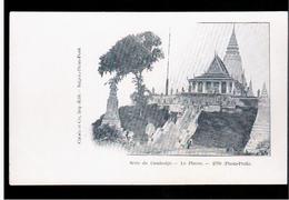 CAMBODIA  Cambodge Le Pnom 1890 (Pnom- Penh) Ca 1910 OLD POSTCARD 2 Scans - Cambodia