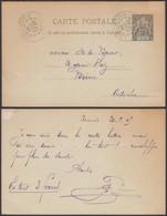 NOUVELLE CALEDONIE 1905 EP 10c De Noumea Vers  Autriche (5G) DC-1159 - Neukaledonien