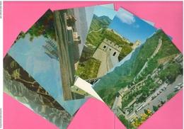 Cina China The Great Wall Muraglia Mur Chinois 6 Cartoline 1978 - Cina