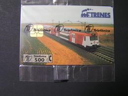 SPAIN TRENES Tiraz 5000  MIND.. - Espagne