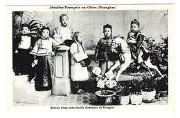 CHINE - SHANGHAÏ - Jésuites Français En Chine - Enfants D' Une Riche Famille Chrétienne De Shanghaï - Chine