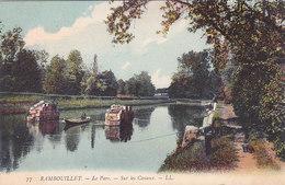 Rambouillet Le Parc Sur Les Canaux Pecheur à La Ligne éditeur LL N°77 - Rambouillet
