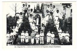 """CHINE - SHANGHAÏ - Mission Des Jésuites En Chine - Au """"Seng Mon Yeu"""", Maison Des Auxiliatrices Du Purgatoire, Orphelines - Chine"""