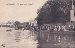 MONTARGIS          FETE NAUTIQUE SUR LE CANAL    N°1 - Montargis