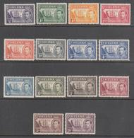 ST. HELENA    SCOTT NO.  118-27    MINT HINGED     YEAR  1938 - Grande-Bretagne (ex-colonies & Protectorats)
