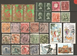 29 Timbres Anciens De Chine - Chine