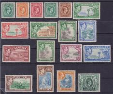Jamaica 640 * 1938 Giorgio VI, Soggetti Vari, SG N. 121/133a Cat. £ 150,00. MH - Giamaica (1962-...)