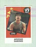 ARVIDAS SABONIS....PALLACANESTRO....VOLLEY BALL...BASKET - Trading Cards