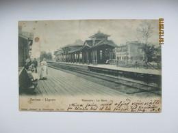 IMP. RUSSIA , ST. PETERSBURG LIGOVO BAHNHOF RAILWAY STATION LA GARE ,  , OLD  POSTCARD , 0 - Gares - Sans Trains