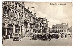 SINGAPOUR - SINGAPORE - Raffles Place - Ed. K. P. Hock, Singapore - Singapour