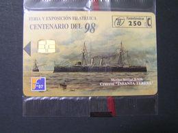 SPAIN CENTENARIO DEL 98 Set 2 Tiraz 6000  MIND.. - Spain