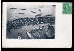 CAMBODIA  Cambodge Regates Sur Le Tonle- Sap Ca 1910 OLD POSTCARD 2 Scans - Cambodia