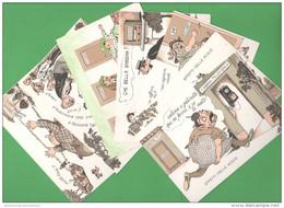 Terme Effetti Delle Acque 7 Cartoline - Santé