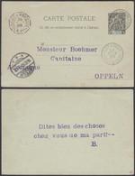 COTE D IVOIRE 1898 EP 10c De GRAND BASSAM Vers ALLEMAGNE Cachet Maritime  (5G) DC-1163 - Côte-d'Ivoire (1892-1944)