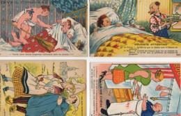 HUMOUR  Lot De 4 Cartes éditeur Artaud (2) - Humour