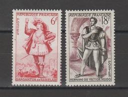 FRANCE / 1953 / Y&T N° 943/944 ** : Gargantua & Hernani - Gomme D'origine Intacte - France