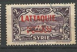 LATTAQUIE N° 9 OBL TB - Lattaquié (1931-1933)