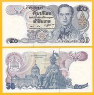 Thailand 50 Baht P-90b(3) ND(1985-1996) Sign. 56 UNC - Thaïlande
