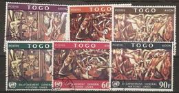 Togo - 1967 Disarmament Used   SG 533-8 - Togo (1960-...)