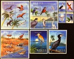 Maldives 2000** Mi.3479-82, Klb.3483-88, 3489-91, 3495-00 + Bl.456, 457. Birds [10;6] - Birds
