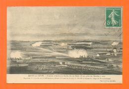 CPA FRANCE 10  ~  ARCIS-sur-AUBE  ~  Combat Du 20 Mars 1814 Près Du Moulin à Vent - Arcis Sur Aube