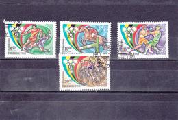 Ouzbékistan Oblitéré  1996  N° 69/72   Sport. Jeux Olympiques D'Atlanta - Ouzbékistan
