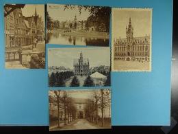 5 Cartes Postales De Belgique /21/ - Postcards