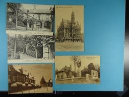 5 Cartes Postales De Belgique /22/ - Cartes Postales