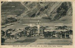 CPA - CUNEO - CELLES DI BELLINO - SALUTI - Cuneo