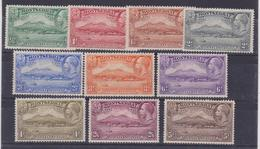 Montserrat  647 * 1938 Giorgio V, Anniversario SG N. 84/93 Cat. £ 160,00 MH - Montserrat