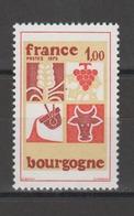 FRANCE / 1975 / Y&T N° 1848 ** : Bourgogne - Gomme D'origine Intacte - France
