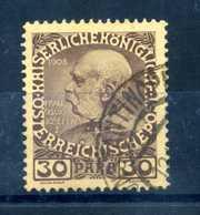 1908-14 LEVANTE N.47USATO - Oriente Austriaco