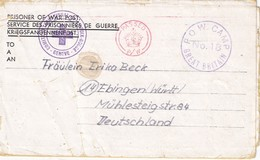 GRANDE-BRETAGNE LETTRE DE PRISONNIER DE GUERRE P.O.W. CAMP N° 18 - 1902-1951 (Rois)