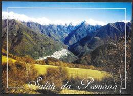 Italia/Italie/Italy: Saluti Da Premana - Souvenir De...