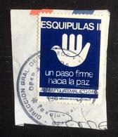 Guatemala : Timbre Oblitéré Sur Coin D'enveloppe - Guatemala