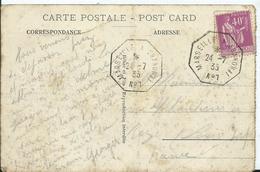 "CACHET MARITIME  "" MARSEILLE A SAIGON N° 7 - Marcophilie (Lettres)"